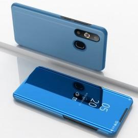 Mirror View Case Samsung Galaxy A50 Hoesje - Blauw