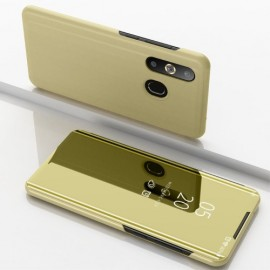 Mirror View Case Samsung Galaxy A50 Hoesje - Goud