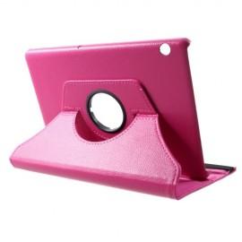 360 Rotating Case Huawei MediaPad T5 10 Hoesje - Roze