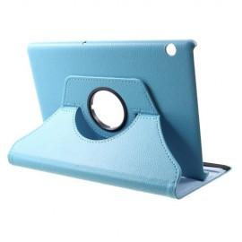 360 Rotating Case Huawei MediaPad T5 10 Hoesje - Lichtblauw