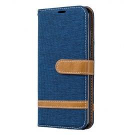 Denim Book Case Huawei Y6 (2019) / Y6s Hoesje - Blauw