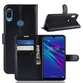 Book Case Huawei Y6 (2019) Hoesje - Zwart