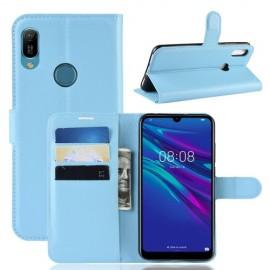 Book Case Huawei Y6 (2019) / Y6s Hoesje - Lichtblauw