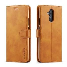 Luxe Book Case Huawei Mate 20 Lite Hoesje - Bruin