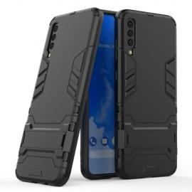 Armor Kickstand Samsung Galaxy A70 Hoesje - Zwart