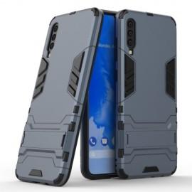 Armor Kickstand Samsung Galaxy A70 Hoesje - Donkerblauw
