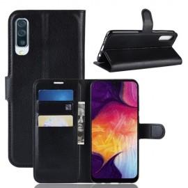 Book Case Samsung Galaxy A50 Hoesje - Zwart