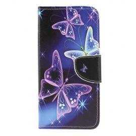 Book Case Samsung Galaxy A50 Hoesje - Vlinder