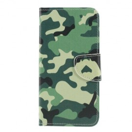 Book Case Samsung Galaxy A50 / A30s Hoesje - Camouflage