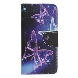 Book Case Samsung Galaxy A70 Hoesje - Vlinders