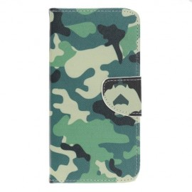 Book Case Samsung Galaxy A70 Hoesje - Camouflage