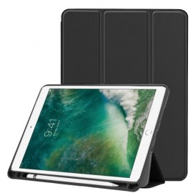 Smart Book Case iPad Air 10.5 (2019) Hoesje - Zwart