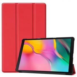 Book Case Samsung Galaxy Tab A 10.1 (2019) Hoesje - Rood
