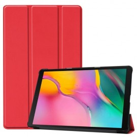 Smart Book Case Samsung Galaxy Tab A 10.1 (2019) Hoesje - Rood