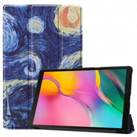 Smart Book Case Samsung Galaxy Tab A 10.1 (2019) Hoesje - Sterrennacht