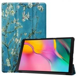 Smart Book Case Samsung Galaxy Tab A 10.1 (2019) Hoesje - Bloesem