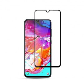 Full-Cover Tempered Glass Samsung Galaxy A70 - Zwart