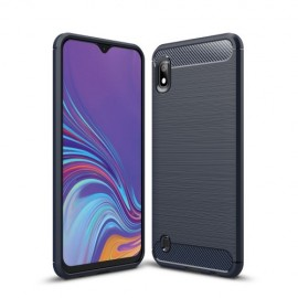 Armor Brushed TPU Samsung Galaxy A10 Hoesje - Blauw