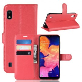 Book Case Samsung Galaxy A10 Hoesje - Rood