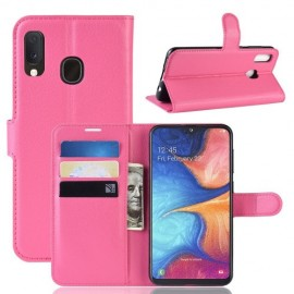 Book Case Samsung Galaxy A20e Hoesje - Roze