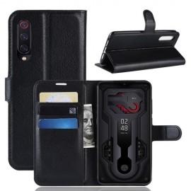 Book Case Xiaomi Mi 9 Hoesje - Zwart