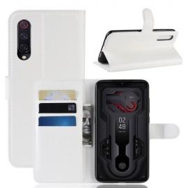 Book Case Xiaomi Mi 9 Hoesje - Wit