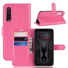 Book Case Xiaomi Mi 9 Hoesje - Roze