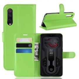 Book Case Xiaomi Mi 9 Hoesje - Groen