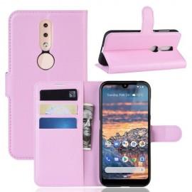 Book Case Nokia 4.2 Hoesje - Pink