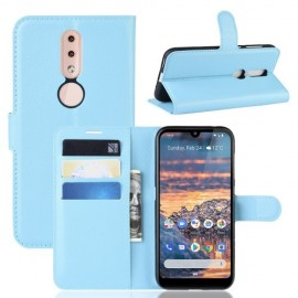 Book Case Nokia 4.2 Hoesje - Lichtblauw