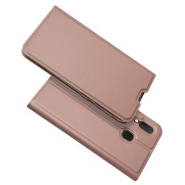 Folio Book Case Samsung Galaxy A20e Hoesje - Rose Gold