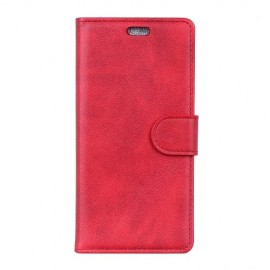 Luxe Book Case Sony Xperia L3 Hoesje - Rood