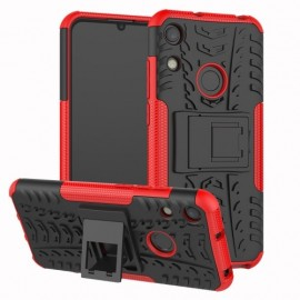 Rugged Kickstand Huawei Y6 (2019) / Y6s Hoesje - Rood