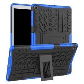 Rugged Kickstand Samsung Galaxy Tab A 10.1 (2019) Hoesje - Blauw