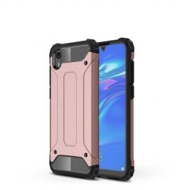Armor Hybrid Huawei Y5 (2019) Hoesje - Rose Gold