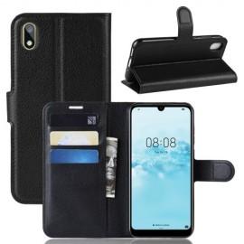 Book Case Huawei Y5 (2019) Hoesje - Zwart