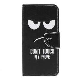 Book Case Samsung Galaxy M20 (Power) Hoesje - Don't Touch