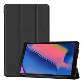 Smart Book Case Samsung Galaxy Tab A 8.0 (2019) Hoesje - Zwart