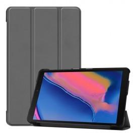 Smart Book Case Samsung Galaxy Tab A 8.0 (2019) Hoesje - Grijs