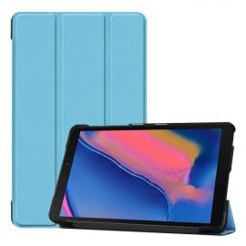 Smart Book Case Samsung Galaxy Tab A 8.0 (2019) Hoesje - Lichtblauw