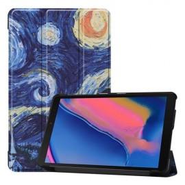 Smart Book Case Samsung Galaxy Tab A 8.0 (2019) Hoesje - Sterrennacht