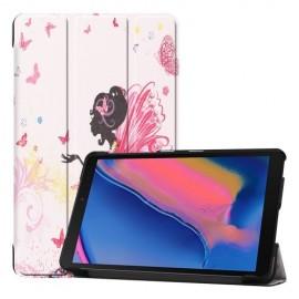 Smart Book Case Samsung Galaxy Tab A 8.0 (2019) Hoesje - Meisje