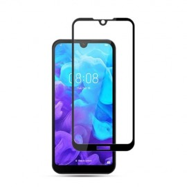 Full-Cover Tempered Glass Huawei Y5 (2019) - Zwart
