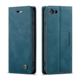 CaseMe Book Case iPhone 8 / 7 Hoesje - Blauw