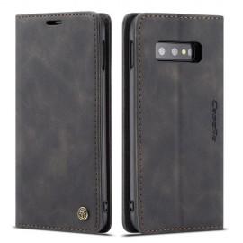 CaseMe Book Case Samsung Galaxy S10e Hoesje - Zwart