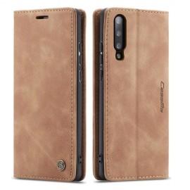 CaseMe Book Case Samsung Galaxy A50 Hoesje - Bruin