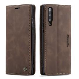 CaseMe Book Case Samsung Galaxy A50 Hoesje - Donkerbruin