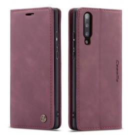 CaseMe Book Case Samsung Galaxy A70 Hoesje - Bordeaux
