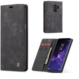 CaseMe Book Case Samsung Galaxy S9 Plus Hoesje - Zwart