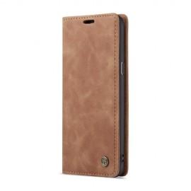 CaseMe Book Case Samsung Galaxy S9 Plus Hoesje - Bruin